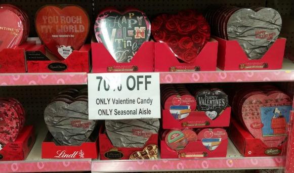 Valentine's Day 70 off