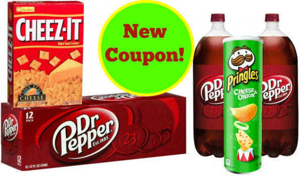 dr. pepper pringles cheez-it new coupon