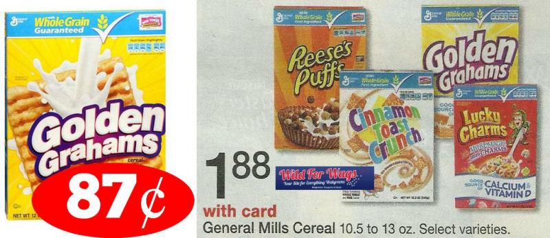 golden grahams cereal deal