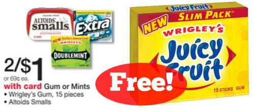Free Juicy Fruit Starting Tomorrow!