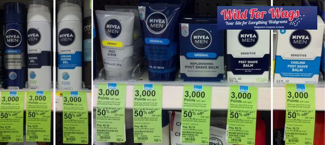 Surprise Points for Nivea Men - Starting at $1.21!