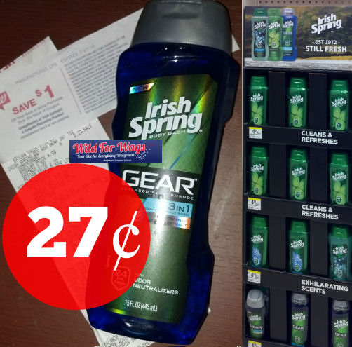 Irish spring body wash clearance deal