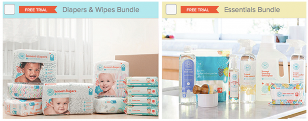 free Honest Company trial