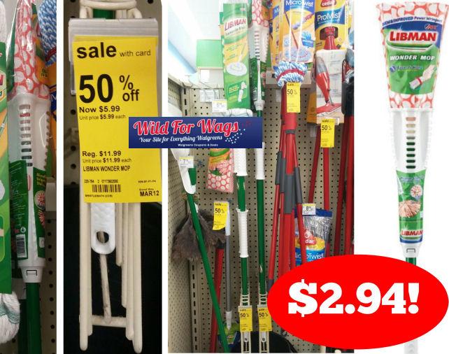 Libman Mop $2.94 (Reg. $11.99)!