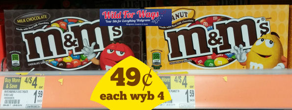 M&M's Theater Boxes Just 49¢!