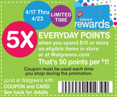 5x points coupon