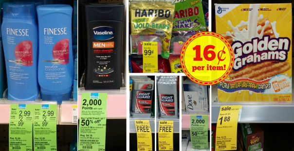 Today Only: Finesse, Vaseline, Haribo and more - 16¢ Per Item!