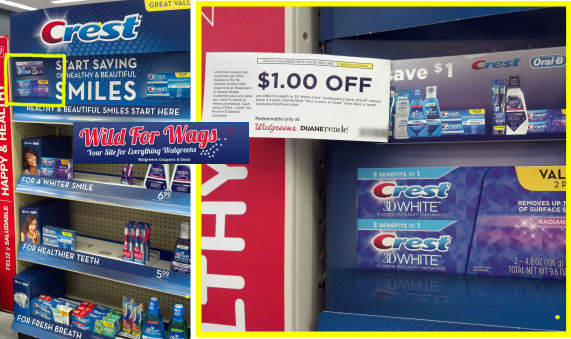 Crest Walgreens coupon