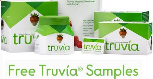 Free Truvia Samples