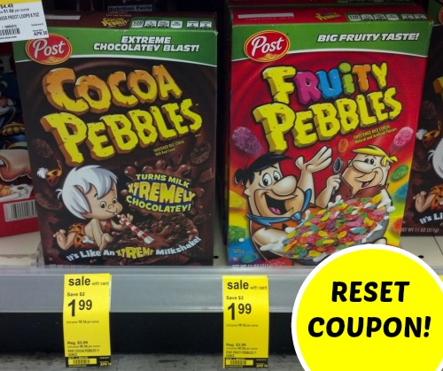 Fruity Pebbles coupons