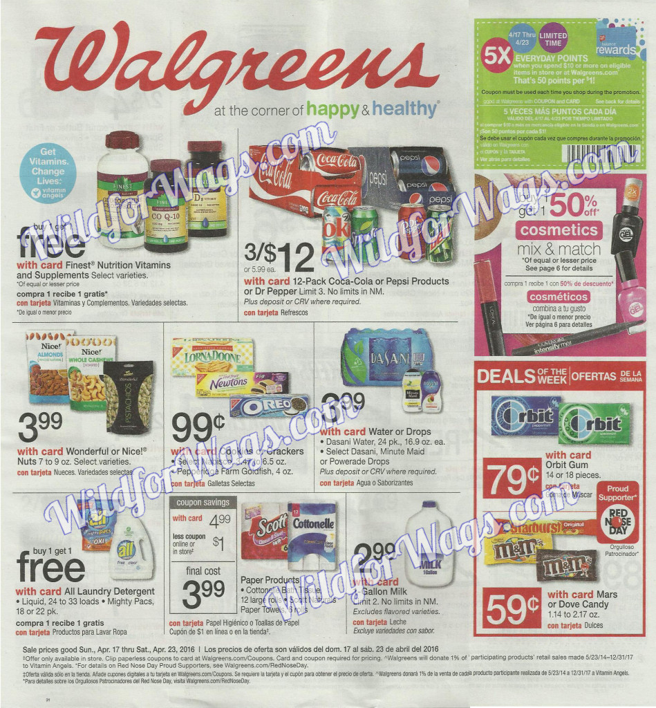 Walgreens Ad Scan 4-17-16 pg1l