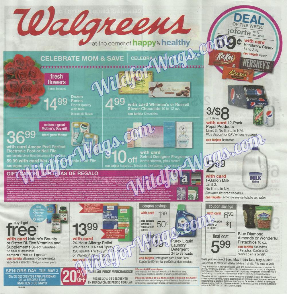Walgreens Ad Scan 5-1-16 pg1s