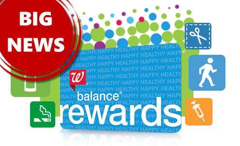 Walgreens Balance Rewards Update