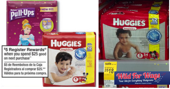 huggies diapers deal