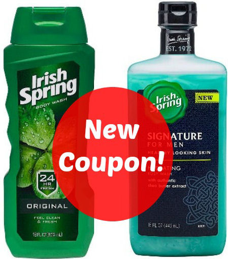 new Irish Spring deals