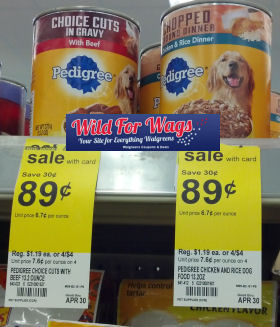 Pedigree Dog Food Cans Just 72¢ Each!