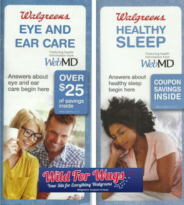 Eye & ear care and healthy sleep booklets