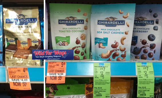 Watch Out For Ghirardelli Clearance - Possible Money Maker!
