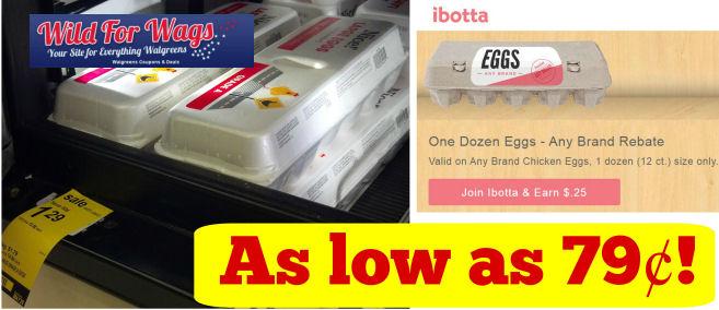 Nice! Dozen Eggs As Low As 79¢!
