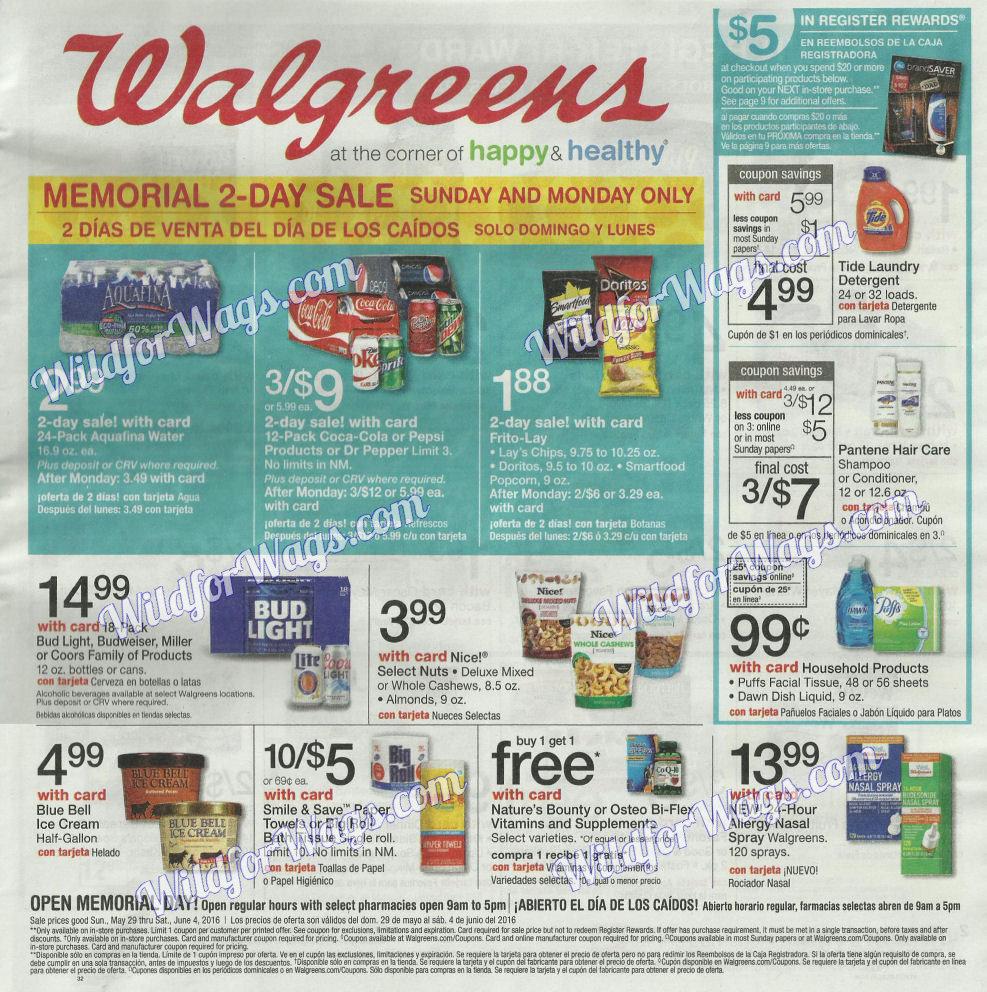 Walgreens Ad Scan 5-29 pg1k