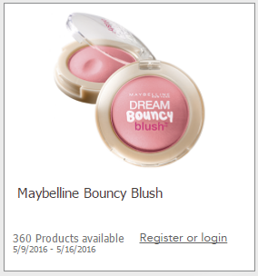 maybelline bouncy blush