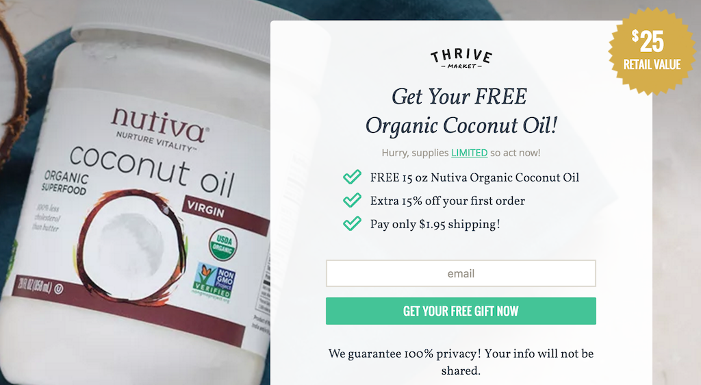 Free Coconut Oil