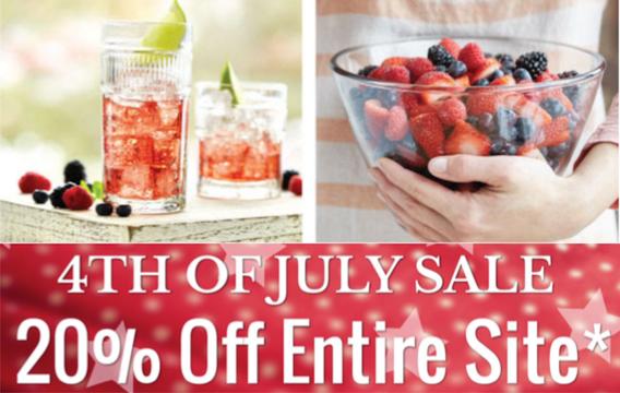 Oneida 4th of July Sale