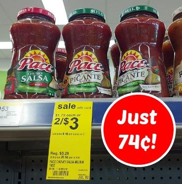 Pace Salsa Deal at Walgreens