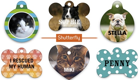 Shutterfly Pet Tag