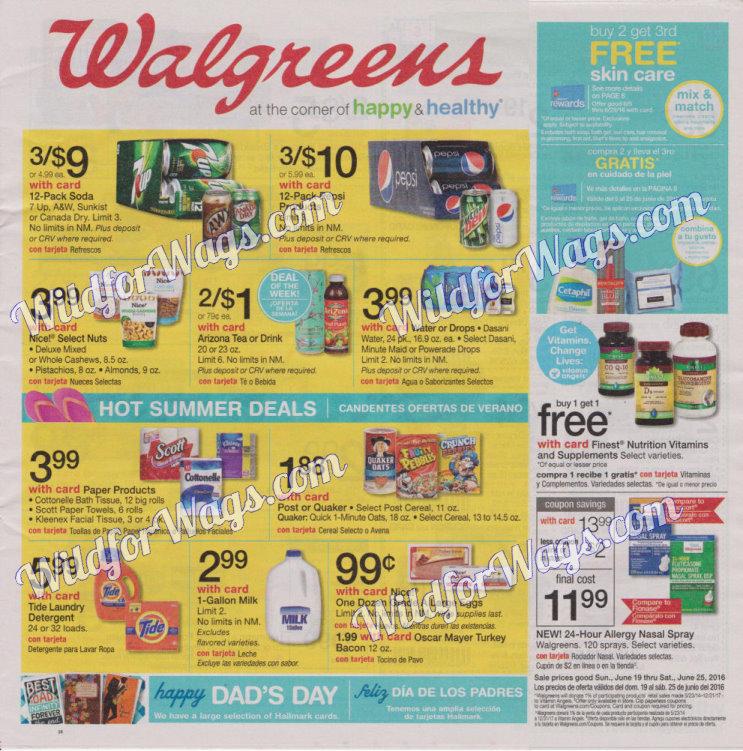 Walgreens Ad Scan 6-19 pg 1k