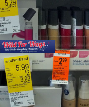 almay cosmetics clearance deal