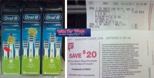 oral b brush heads deals