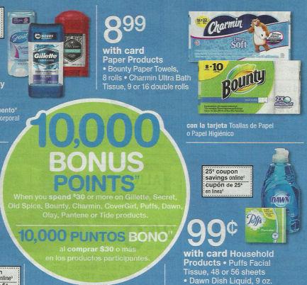 Charmin & bounty deals