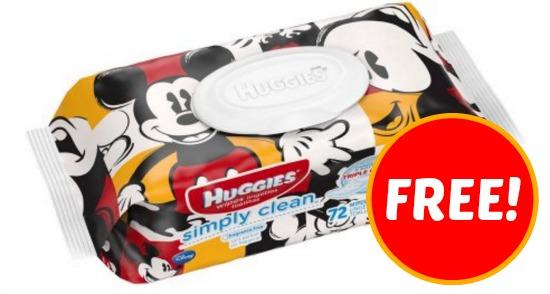 Free Huggies Wipes
