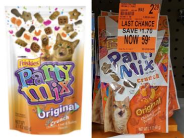 Friskies Party Mix coupons