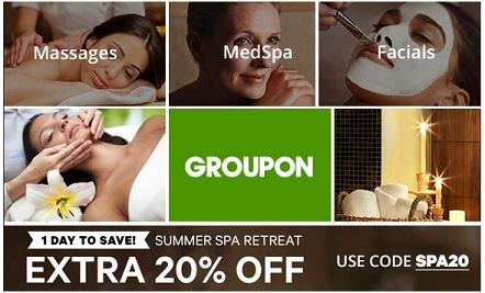 Groupon spa deals oxfordshire