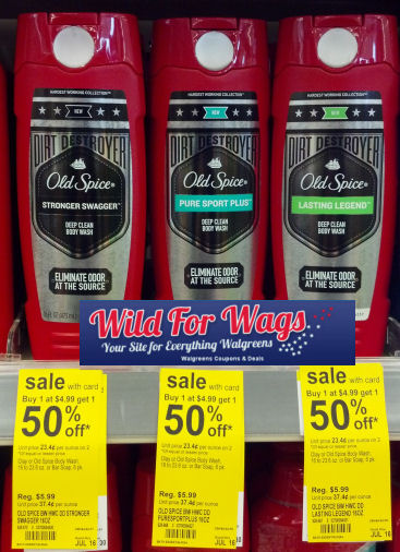 Old Spice Body wash deals