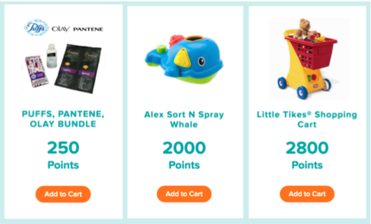 NEW* 15 Pampers Gifts To Grow Points