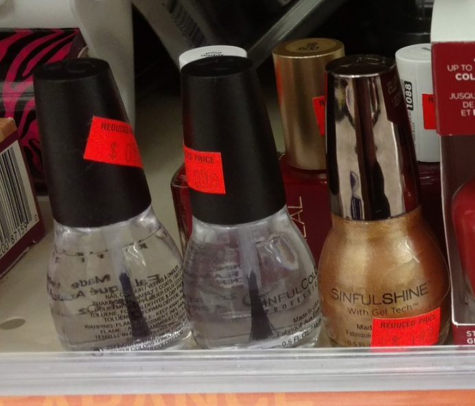 Sinful Colors Clearance