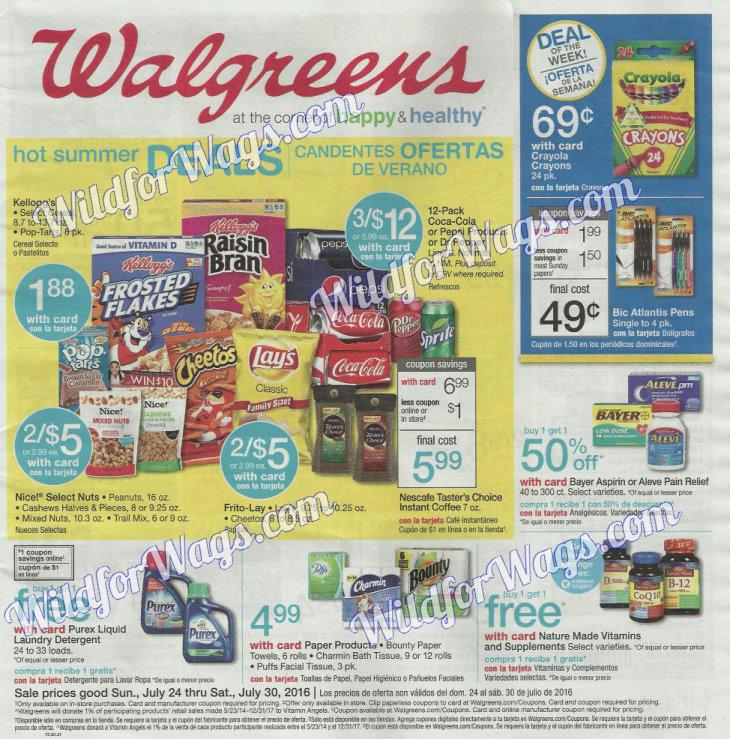 Walgreens Ad Scan 7-24-16 pg1z