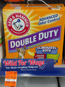 arm & hammer cat litter deals