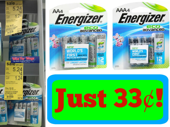 energizer eco advanced deal