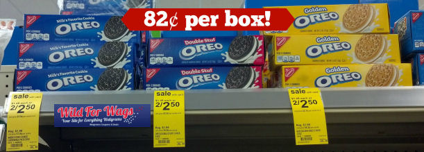 nabisco oreos  deals
