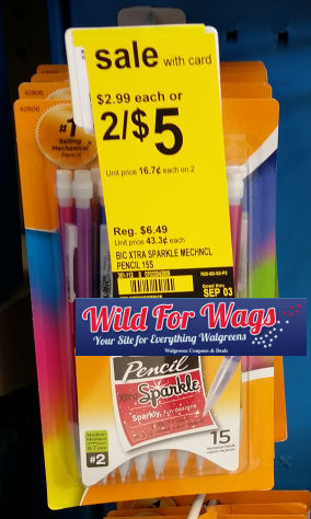 Bic Pencil Sparkle deal