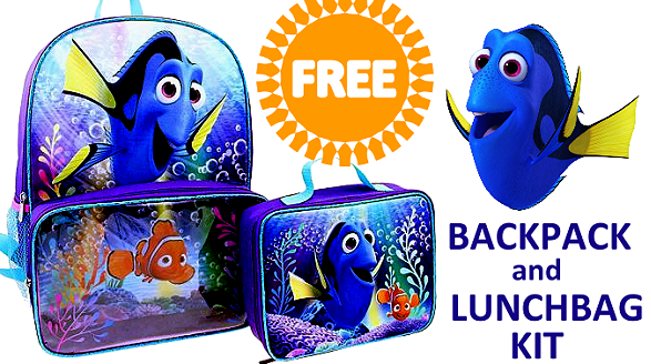 Finding Dory free lunchbox