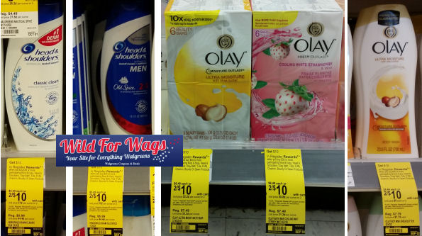 Head & Shoulders and Olay deals