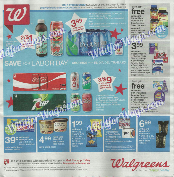 Walgreens Ad Scan 8-28-16 pg1k
