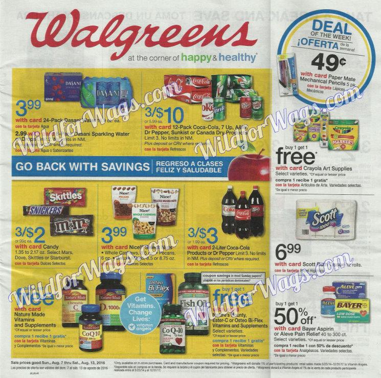 Walgreens Ad Sneak Peek 8-7-16 pg 1c