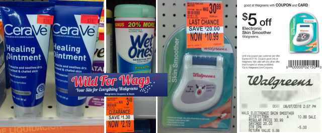 cerave walgreens clearance