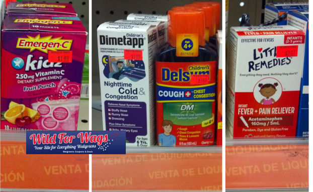 children's cold medicine clearance